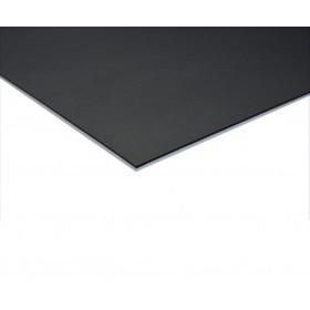 Coda dubbelzijdige dansvloer 200cm x 20m zwart / grijs