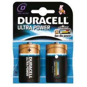 Duracell Ultra Power D-Cell 2 pack MN1300 batterijen