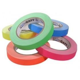 Pro-Gaff neon gaffa tape 19mm x 22,8m kleuren pakket