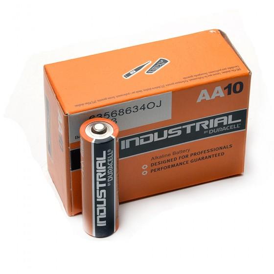 Duracell Industrial AA, doosje 10 stuks