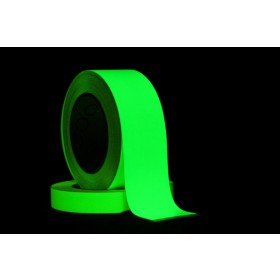 Pro Fotoluminescente (glow in the dark) tape 20mm x 10m.