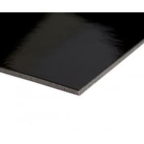Harmony Gloss hoogglans dansvloer 150cm x 25m zwart 1991