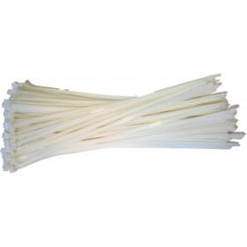 Kabelbinders 9,0 x 775mm. wit zak 100 stuks