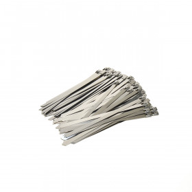RVS Kabelbinders 7,9 x 200 mm - zak 100 stuks
