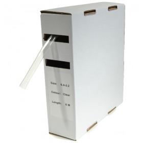 Krimpkous H-1 box 1.6 Ø / 0.8 Ø 10m transparant