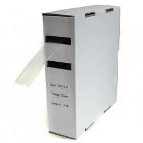Krimpkous H-1 box 12.7 Ø / 6.4 Ø 6m transparant