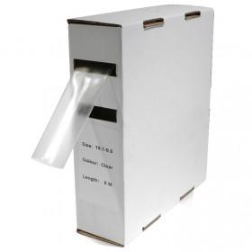 Krimpkous H-1 box 19.0 Ø / 9.5 Ø 5m transparant