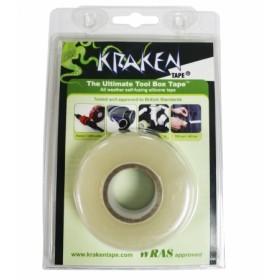 Kraken silicone reparatie tape 25mm x 3,6m. Clear