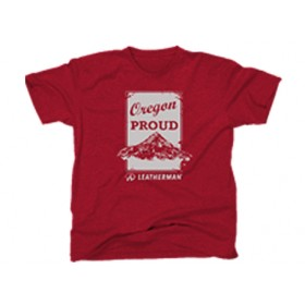 Red Oregon Proud T-Shirt
