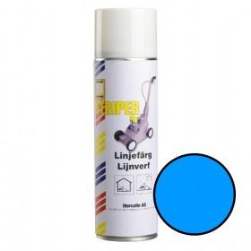 Mercalin Striper markeringsverf -spuitbus 500ml blauw