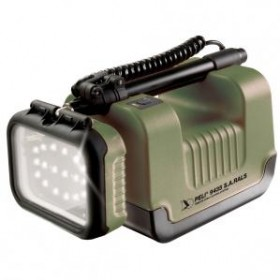 Peli 9435 ATEX Approved Remote Area Lighting System Green