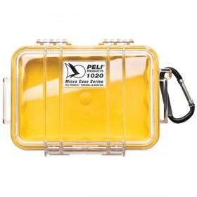 Peli Case 1020 Geel / Transparant