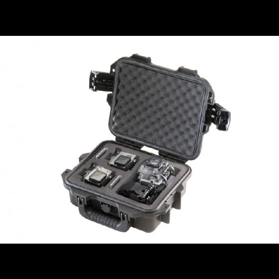 Peli Case 1200 GP2 voor 2 Go Pro camera's