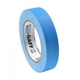 Pro-Gaff neon gaffa tape 24mm x 22,8m blauw