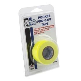 Pro Pocket Gaffa tape 24mm x 9,2m neon geel