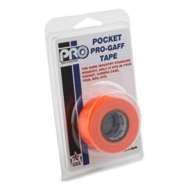 Pro Pocket Gaffa tape 24mm x 9,2m neon oranje