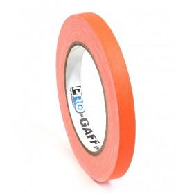 Pro-Gaff neon gaffa tape 12mm x 22,8m oranje