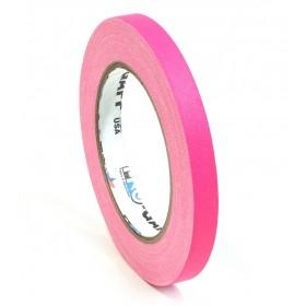 Pro-Gaff neon gaffa tape 12mm x 22,8m roze