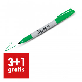 Sharpie Fine Point permanent marker 1mm groen