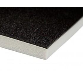 Sonata schokabsorberende dansvloer 200cm x 10m zwart