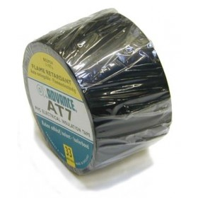 Advance AT-7 PVC tape 50mm. x 33m. Zwart
