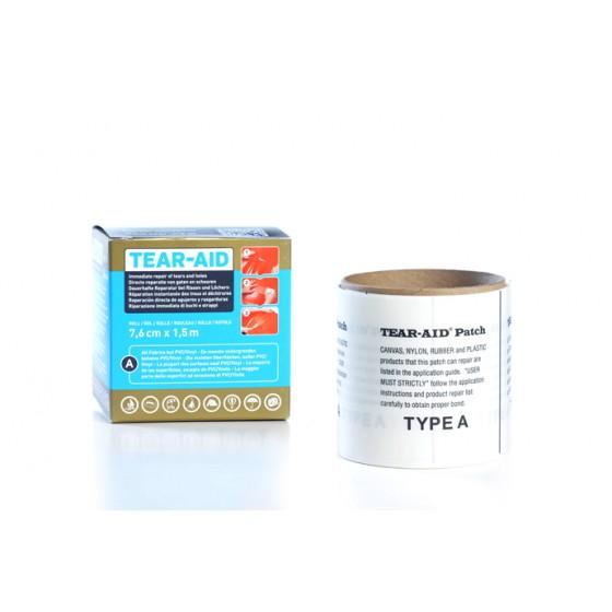 Tear-Aid Type A rol 7,6cm. x 1,5m.