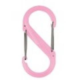 Nite Ize S-Biner #2 plastic roze