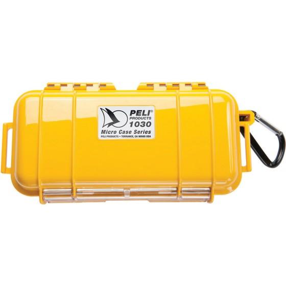 Peli Case 1030 Micro Zwart/Geel