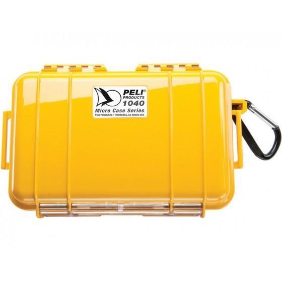 Peli Case 1040 Micro Geel/Zwart