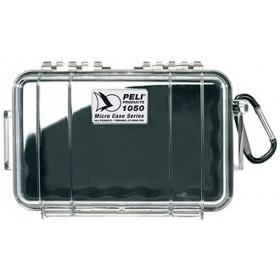 Peli 1050 Micro Case Transparant / Zwart
