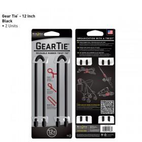 GearTie 12IN | 30,5cm zwart