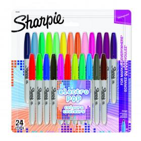 Sharpie Fine Point markeerstiften 24 stuks - Electro Pop set