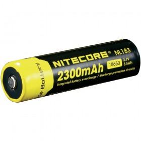 Nitecore 18650 oplaadbare batterij 2300mAh