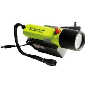 Peli 2460, 1 Watt LED oplaadbaar geel