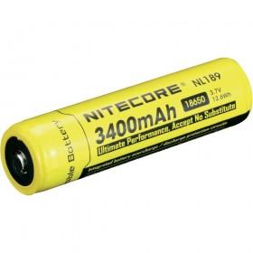 Nitecore 18650 oplaadbare batterij 3400mAh