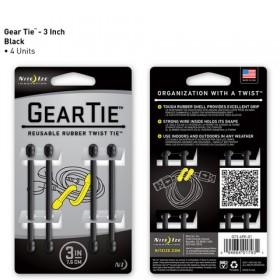 GearTie 3IN | 7,6cm zwart