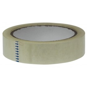 5 Star transparante PP tape 25 mm x 66 m