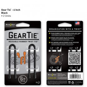 GearTie 6IN | 15,2cm zwart