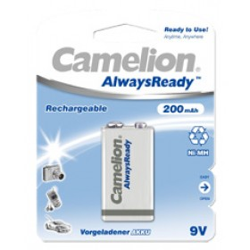 Camelion 9V oplaadbaar, Always Ready