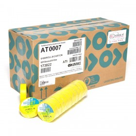 Advance AT7 PVC tape 15mm x 10m geel - doos 100 rollen
