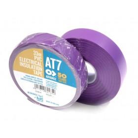 Advance AT-7 PVC tape 19mm x 33m paars