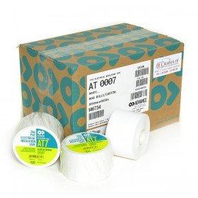 Advance AT7 PVC tape 50mm x 33m wit - doos 18 rollen