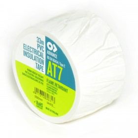 Advance AT7 PVC tape 50mm x 33m Wit