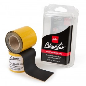 Blacktak Aluminium folie matt zwart 50mm x 5m