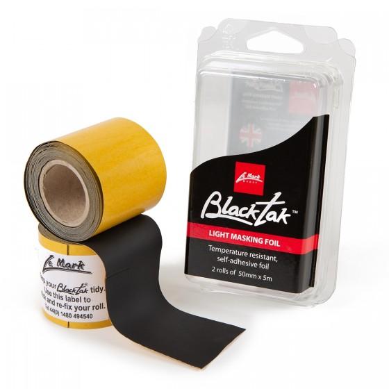 Blacktak Aluminium folie matt zwart 50mm x 5m