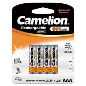 Camelion AAA 600mah blister 4 oplaadbaar
