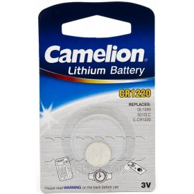 Camelion CR1220 3 Volt knoopcell / BP1