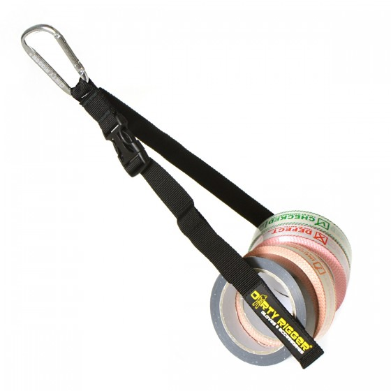 Combiset: Dirty Rigger Tape holder - Gaffergear Checked, Defect, Incomplete en Kabeltape