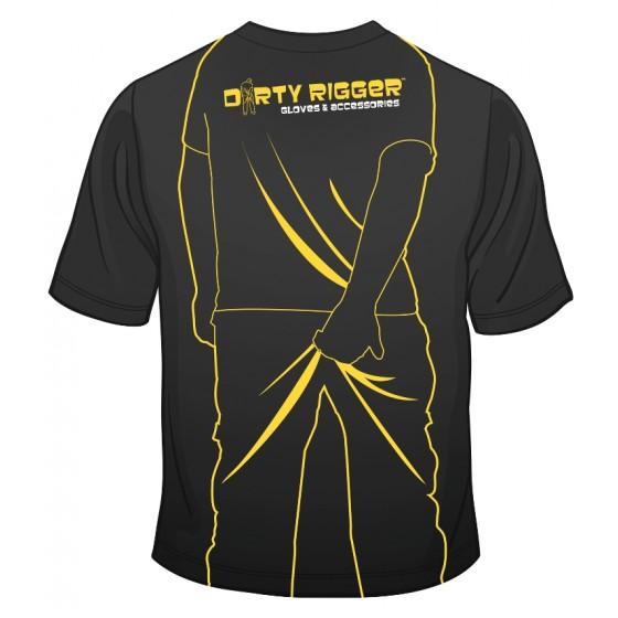 Dirty Rigger t-shirt Scratching Man (achterkant)