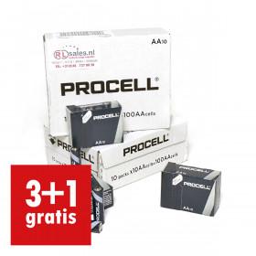 Duracell Procell AA, doos 100 stuks